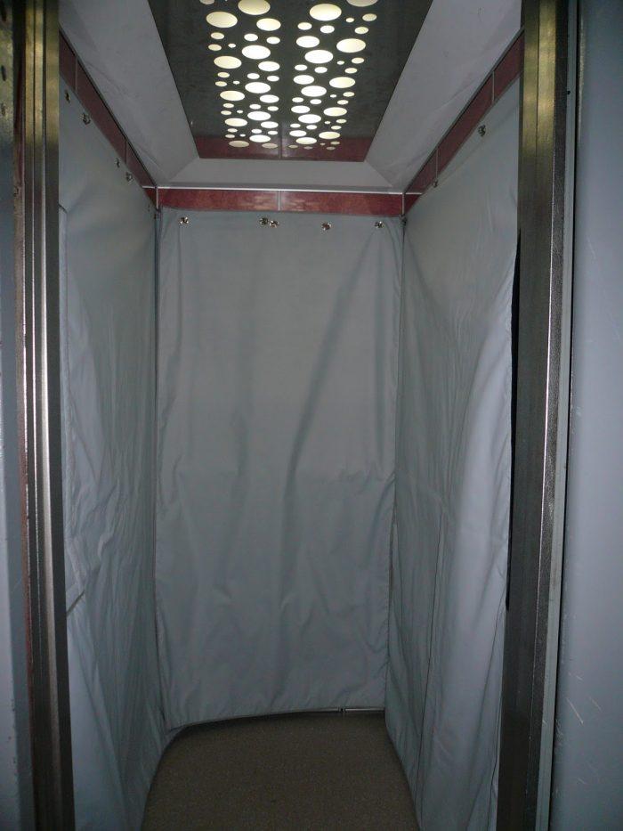 bâches ascenseurs
