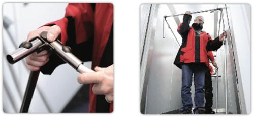 bâches de protection ascenseurs